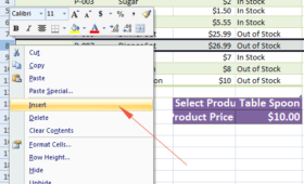 Insert One or multiple rows in Excel